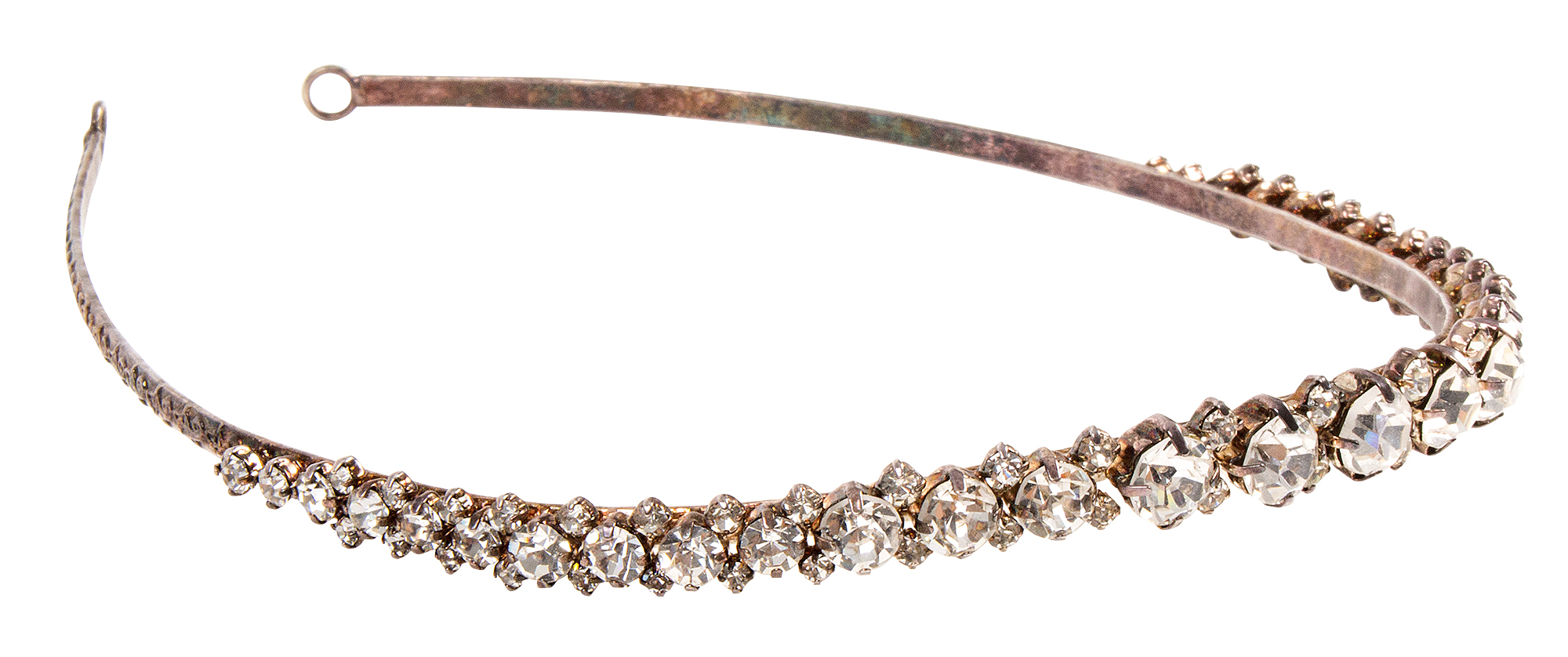 Rhinestone headband, $53 at Out of Hand