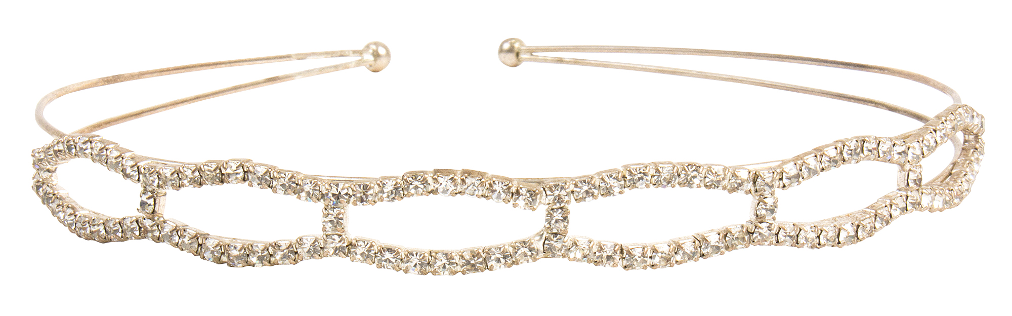 Rhinestone headband, $40 at Out of Hand