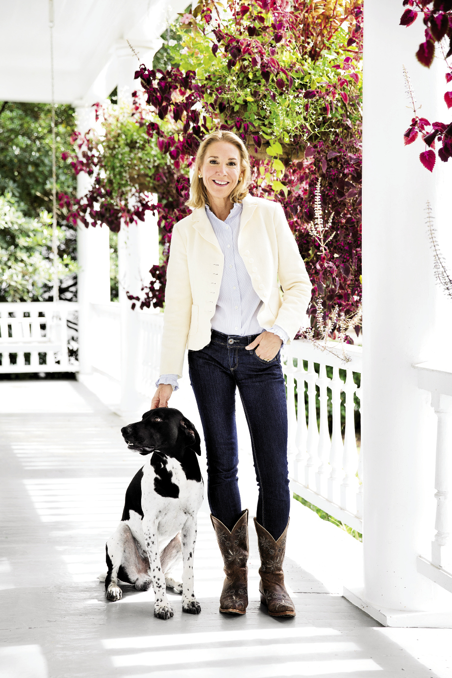 Charleston's own eat-right warrior with her pal Josie at their downtown home