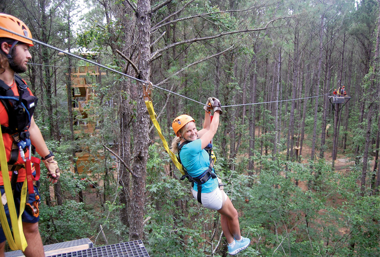 4. Charleston Zipline Adventures