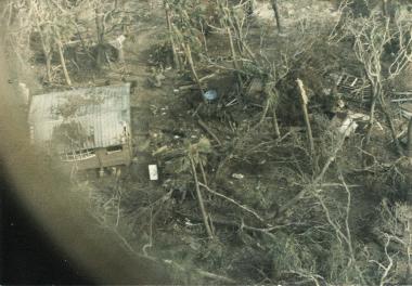 Damages on Goat Island