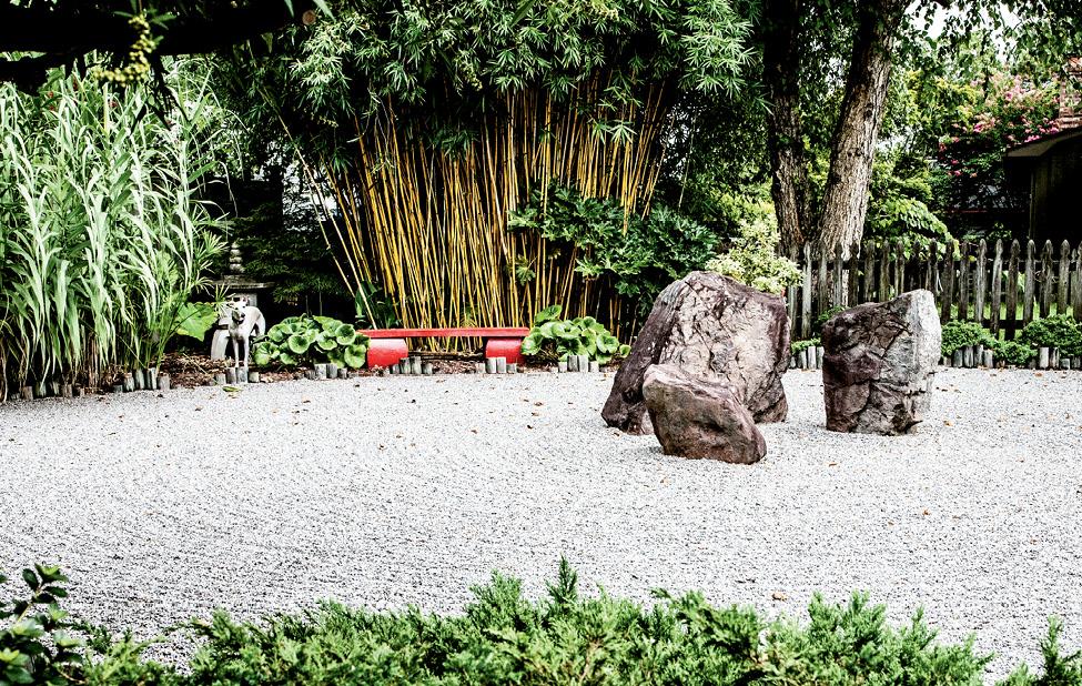 The O'Malleys' Zen garden