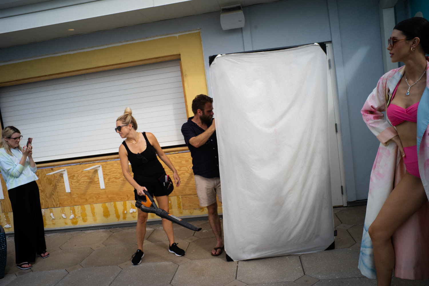 Behind the Scenes by Kit MaCavoy