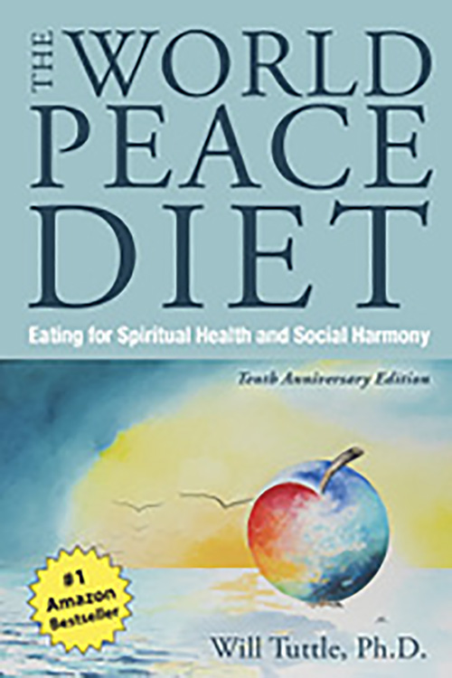 "Good Read - ""After going vegan, I read The World Peace Diet by Dr. Will Tuttle, which really solidified my veganism."""