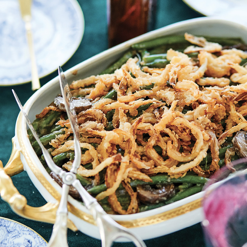 Green Bean Casserole from Laura Alberts Tasteful Options