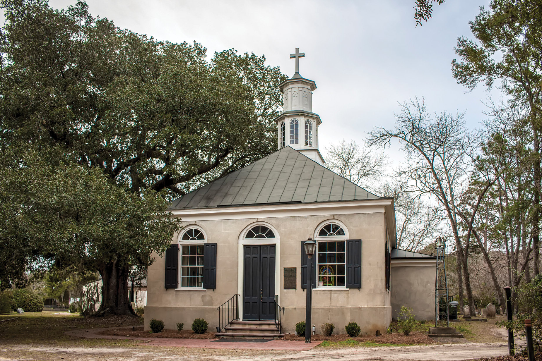 Christ Church near Snee Farm was established as the main house of worship for the parish East of the Cooper River.