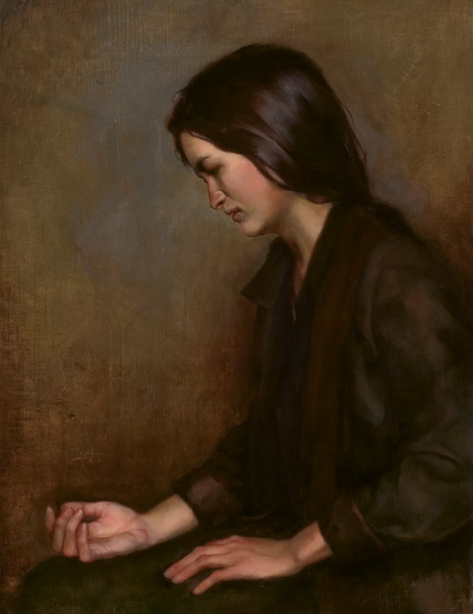 Hirona by Jill Hooper (oil on linen on panel, 32 x 24 inches, 2009)