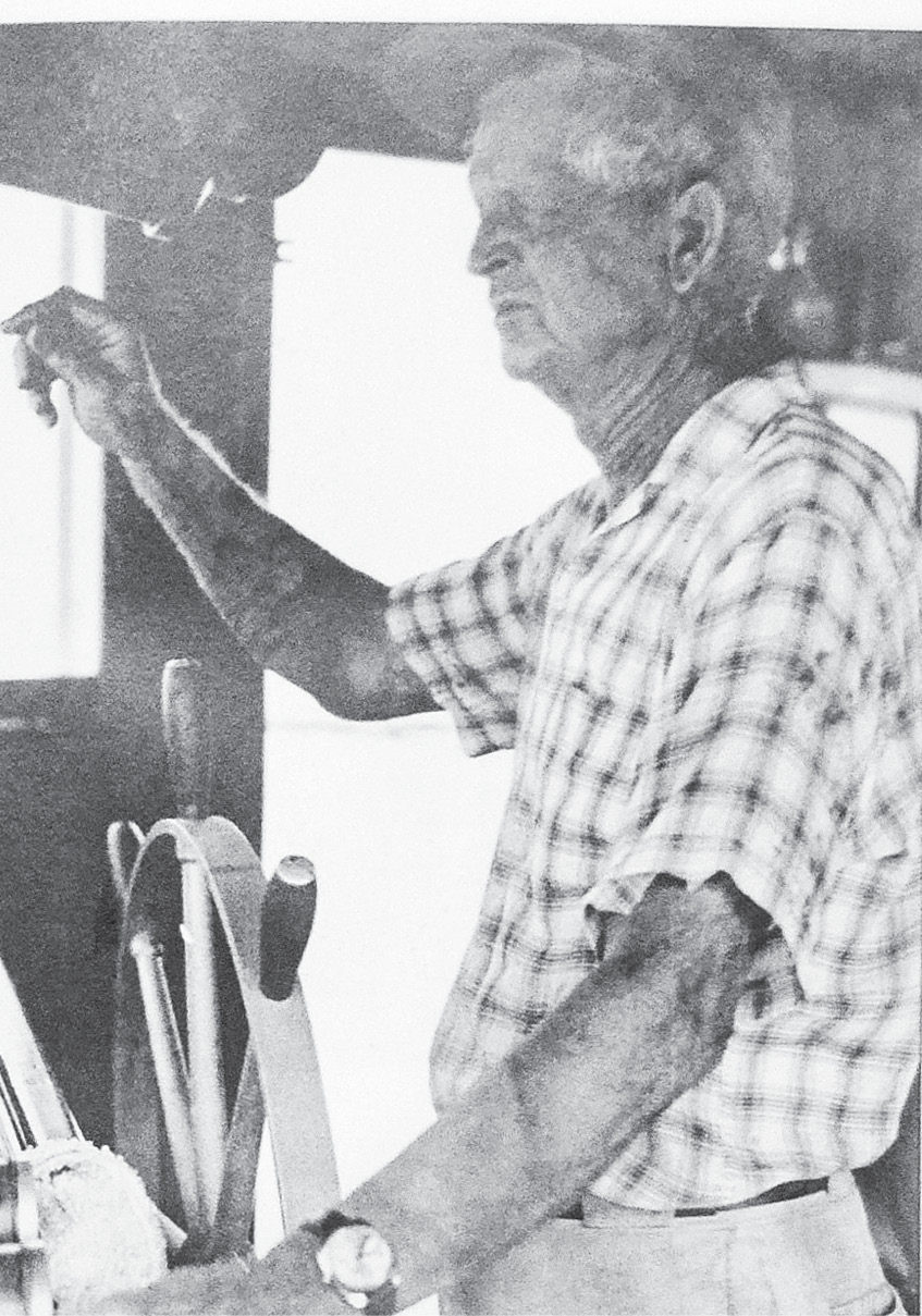 Captain Thomas Chandler built his 60-foot trawler, the Mary Elliott, himself.