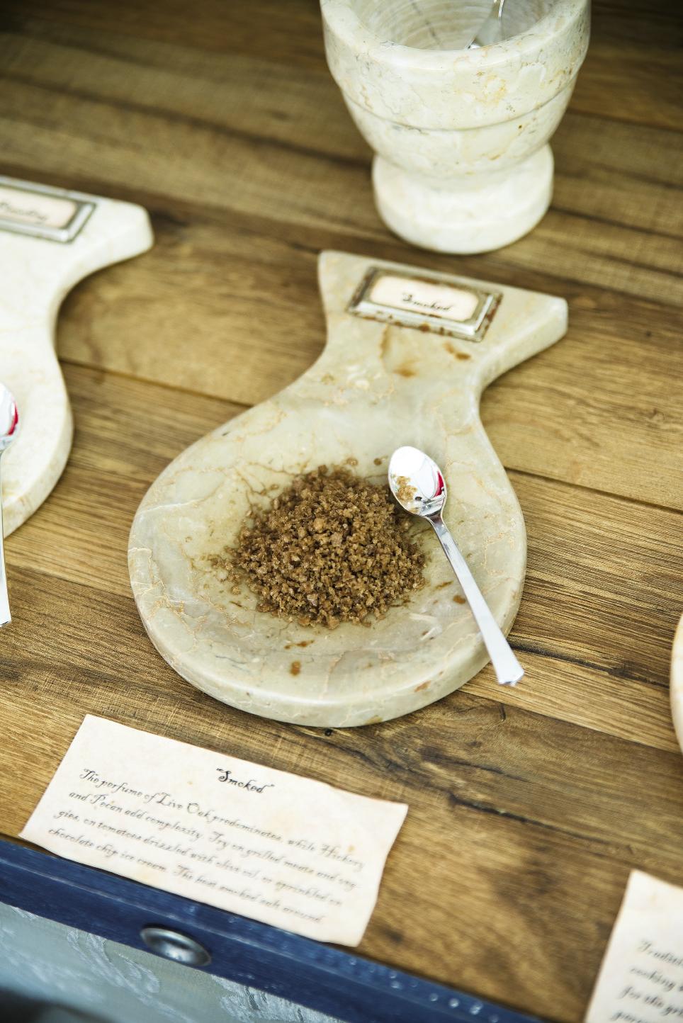 Samples of Botany Bay Sea Salt.