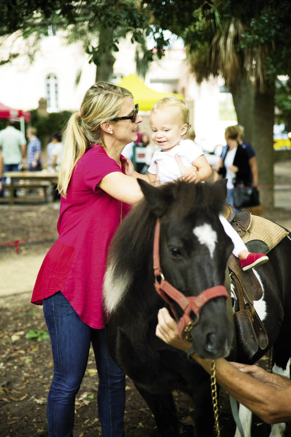 Pony rides for the little ones