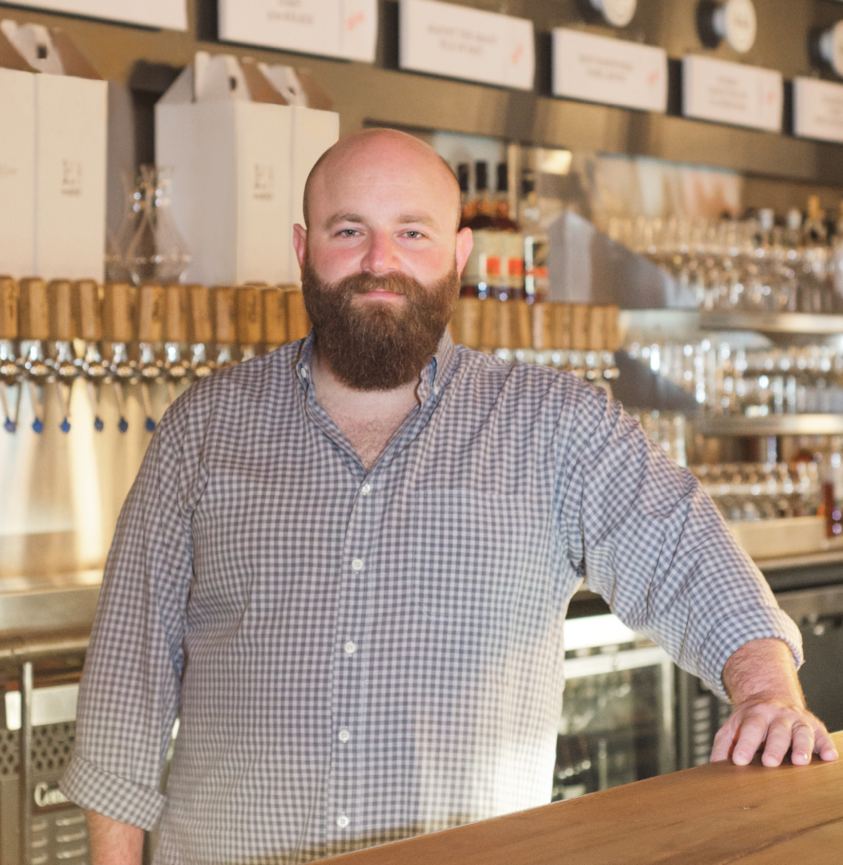 """I'm still enamored with wine and spirits, but I really love the beer industry."" —Scott Shor"