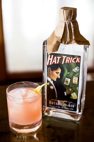 "SPIRITS: High Wire Distilling; ""Hat Trick is full of delicious botanicals; drink it over ice with a touch of Jack Rudy bitters and a splash of soda."" —Vinson Petrillo, Zero Restaurant + Bar"