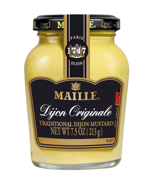 "The chef keeps his fridge stocked with real Dijon mustard. ""A little can do a lot,"" he says. $4, Publix"