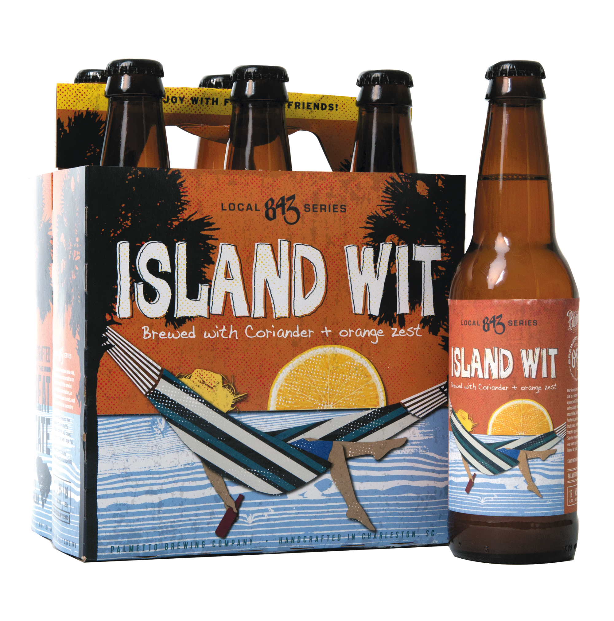 Palmetto Brewing Company's Local 843 Series, Island Wit