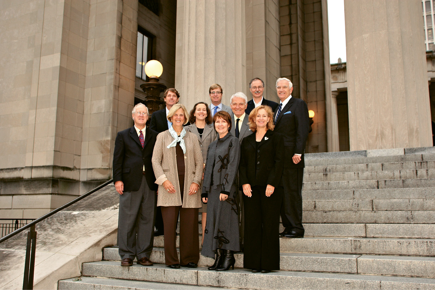 Receiving a National Trust for Historic Preservation award in 2009