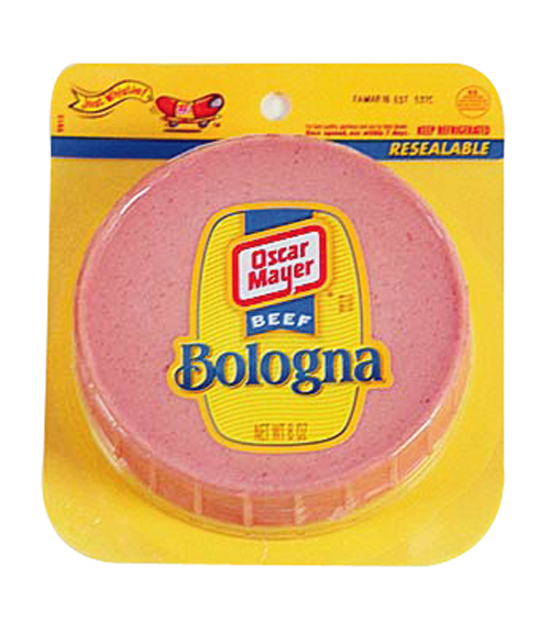 Bologna is a staple in his fridge, as is squishy white bread and pimiento cheese. $3, Harris Teeter