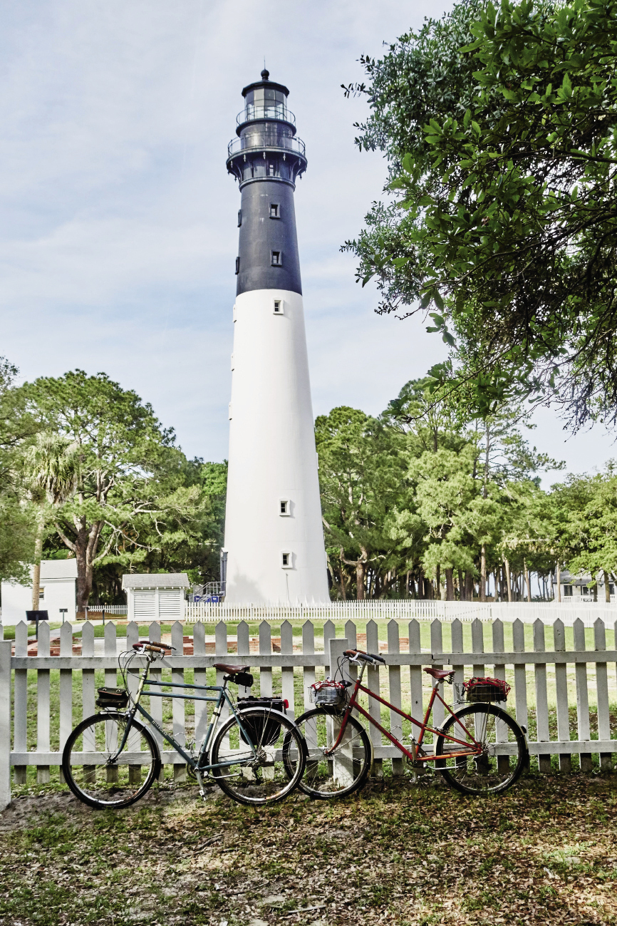 Hunting Island State Park: Hunting Island lighthouse