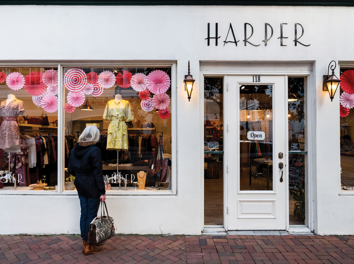 Harper boutique on Bull Street