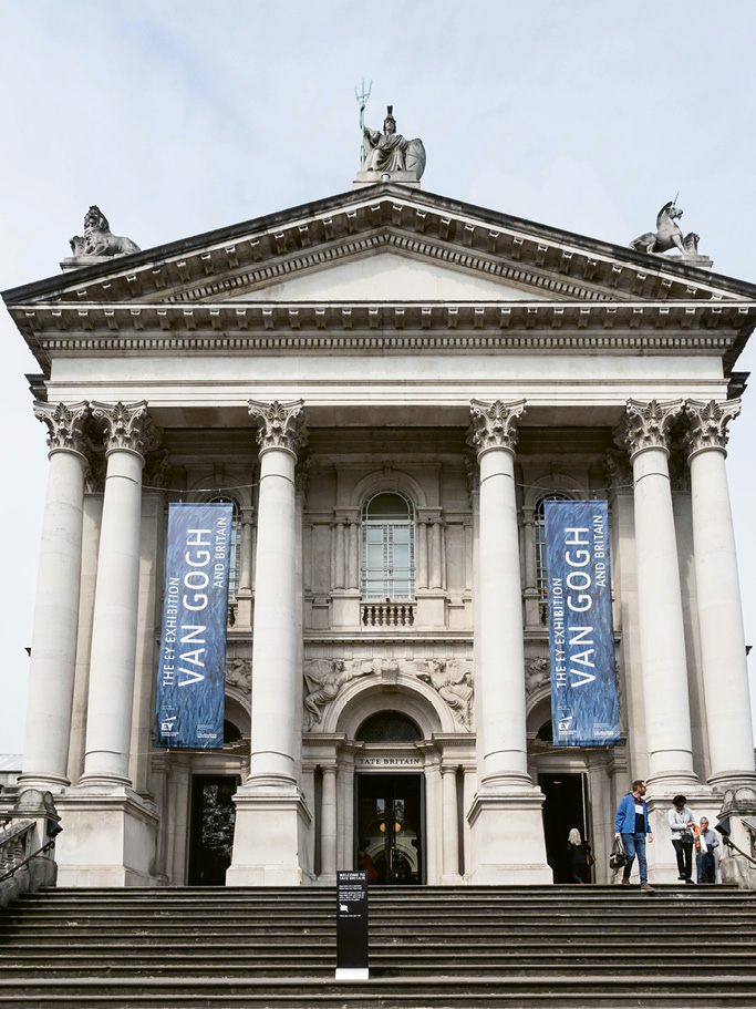 The Tate Britain hosted a major Vincent Van Gogh exhibition through August...