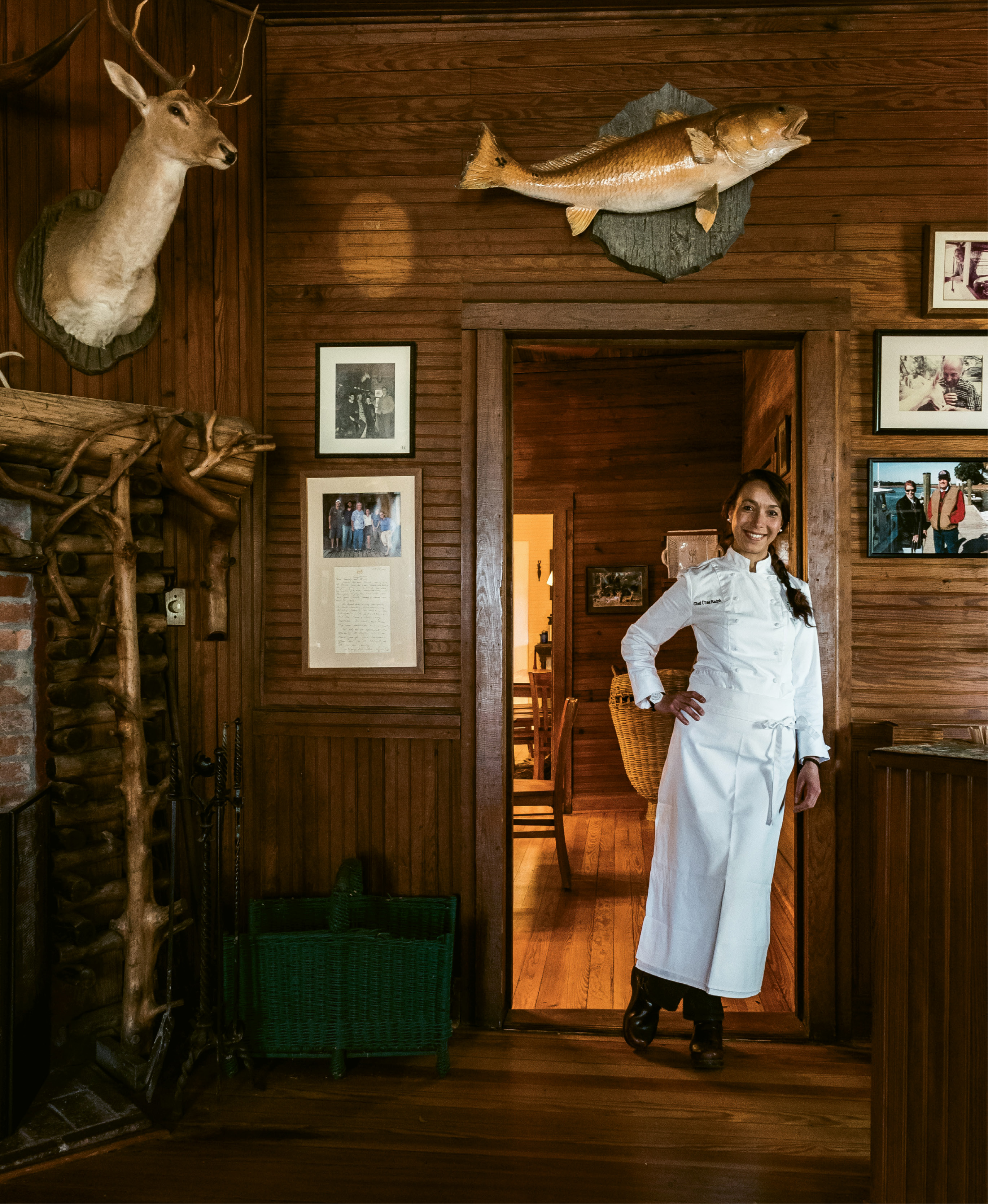 Lodge FLAvor: A native of Turkey who trained in Atlanta, Charleston, and New York, chef Ülfet Özyabasligil Ralph brings elements of Mediterranean cooking to the table.
