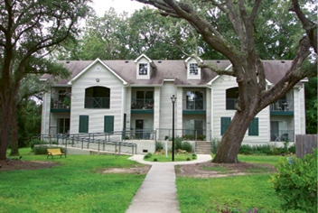 The GrandOak community for seniors under preserved oaks in West Ashley