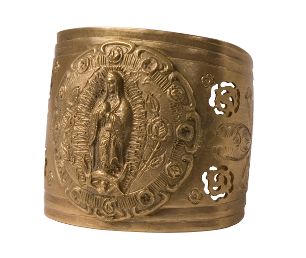 """The Archangel Cuff"" by Virgins Saints & Angels, $249 at II Brunettes"