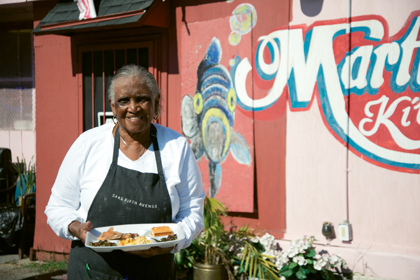 FRIED CHICKEN: Martha Lou's Kitchen; the legendary Martha Lou Gadsden