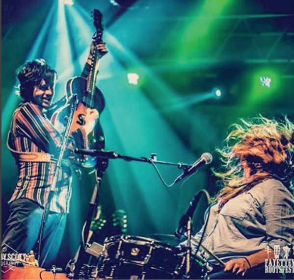 On the Road with @shovelsnrope on Instagram: Fayetteville Roots Festival, August 2016