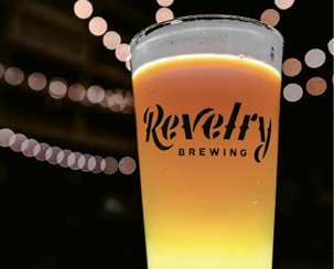 """Go-to Brew: """"Right now, we have the Gold rice lager on tap. It's the first time we've done a brew like this. The learning process was fun!"""""""