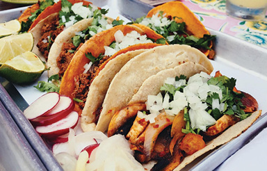"Taco Time: ""I love finding all the cool, authentic taco spots in Charleston. So far, El Pincho's tacos are the best I've had."""