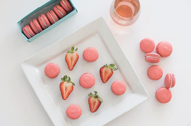 "Berry Good: ""I'm obsessed with strawberries. It's a spring ingredient that can work in a macaron, hand pie, or ice cream."""