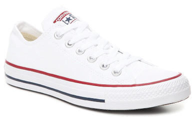 """Restaurant Runner: """"I'm a huge fan of Converse All-Stars. When I worked at The Macintosh, I would wear Chucks with my dress until it was time for service and then I'd put on my fancy shoes."""""""