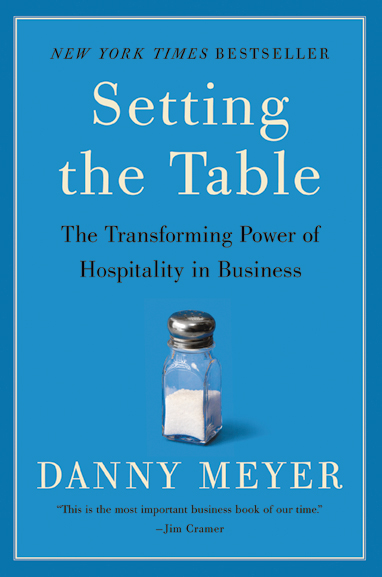 "Words to Live By: The Indigo Road gifts this tome, Palmer's ""hospitality bible,"" to its employees. $16, barnesandnoble.com"