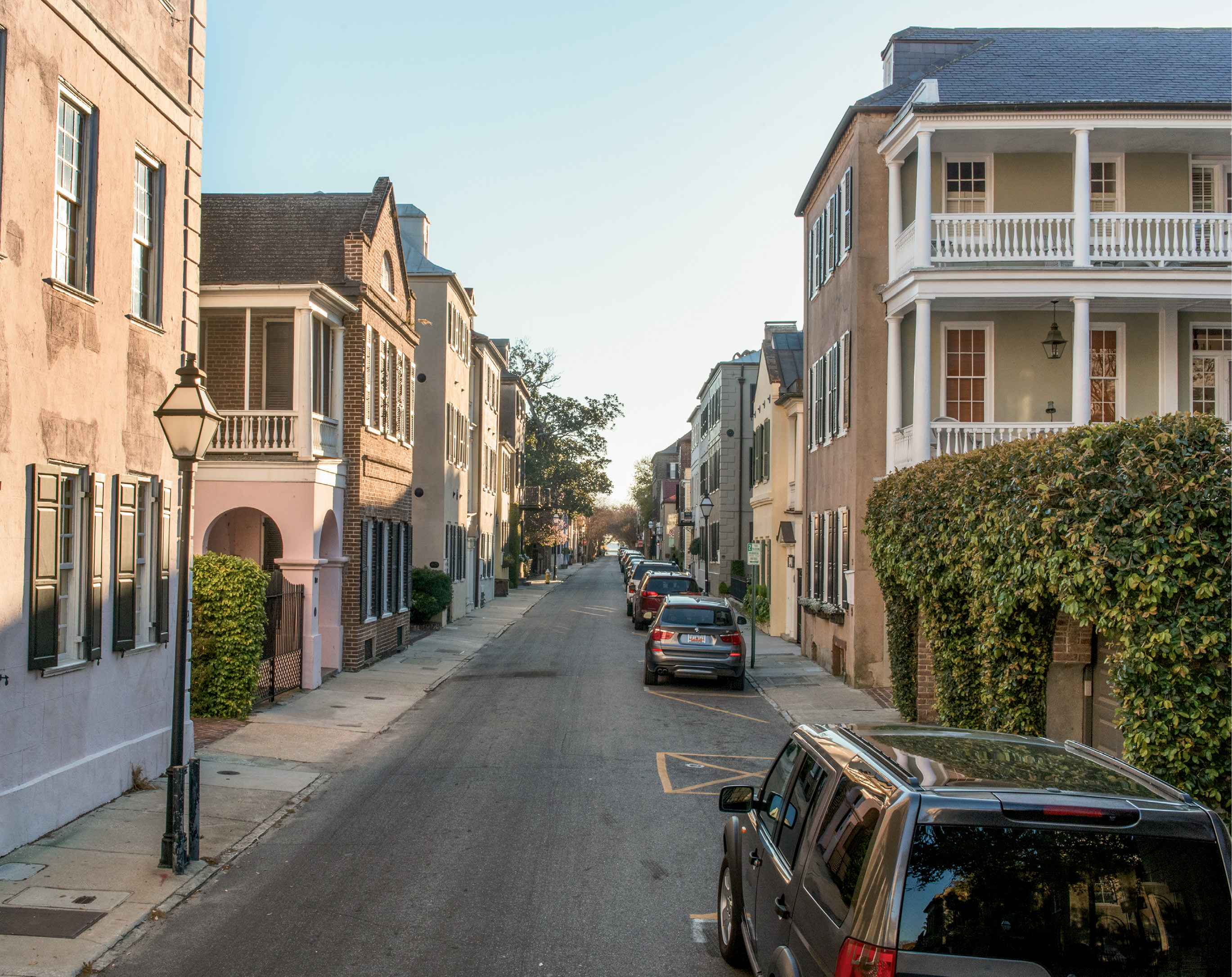 """The restoration movement of the 1920s... centered on the earliest streets such as Tradd and East Bay, where individuals such as Susan Pringle Frost personally purchased homes and resold them to restoration-minded people."" —Jonathan H. Poston, The Buildings of Charleston"