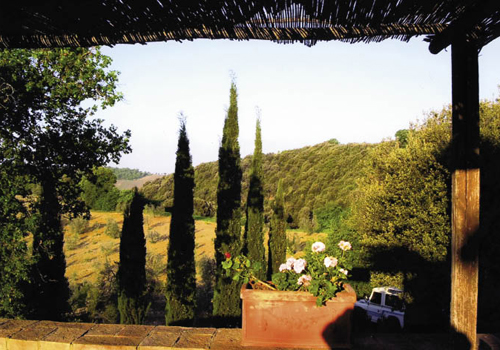 "In Tuscany, Massi and Natasha typically arrange for the group to stay at a comfortably rustic farmhouse, where you ""can smell th"