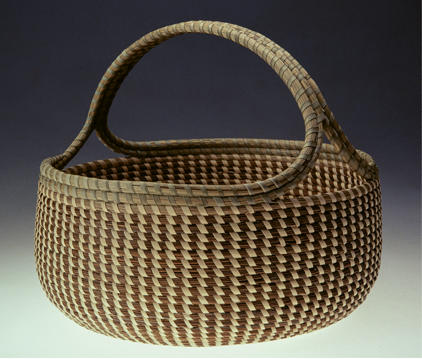 Profiles in Grass: Photographer Jack Alterman has documented almost all of Jackson's baskets with portraits that illuminate their distinct personalities and classical sculptural beauty.