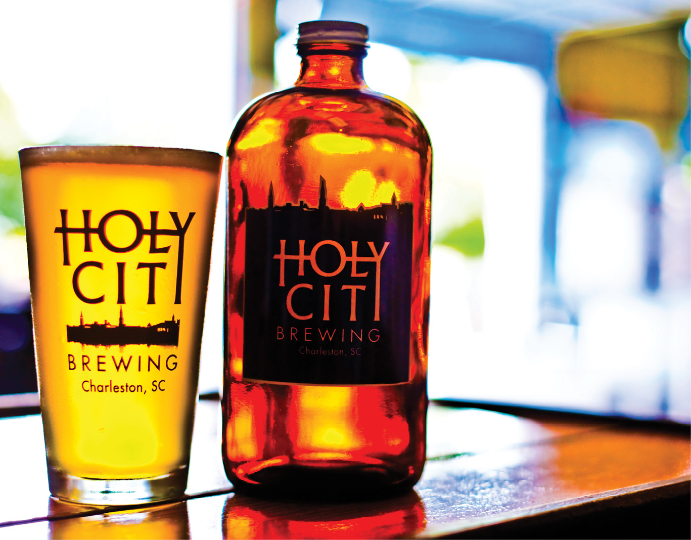 BEER: With 15—and counting—breweries for the sampling, Charleston is happily soaking in suds. Holy City Brewing was named among the top sips.