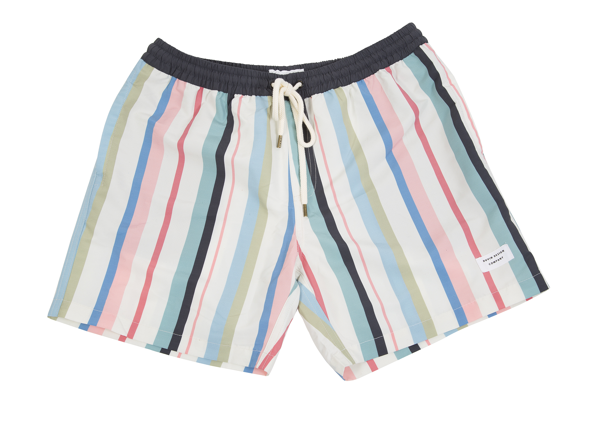 "Duvin Design Company ""Beach Club"" in ""pastel stripe,"" $66 at Las Olas"