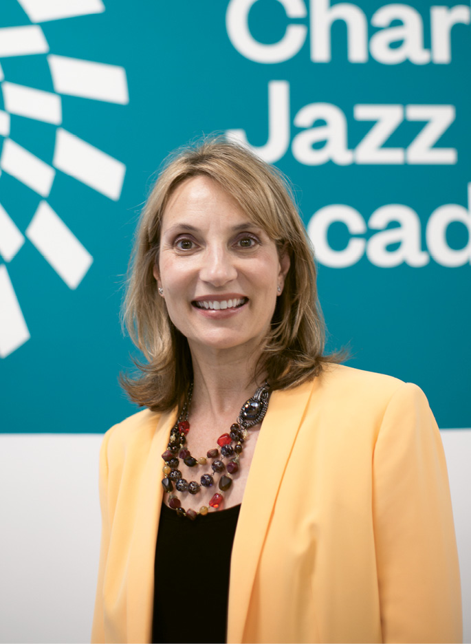 Mary Beth Natarajan, the executive director of Charleston Jazz