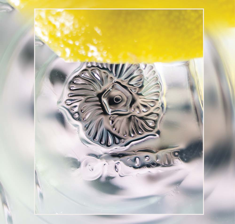 Cool Cubes: While mastering cocktails in Mumbai, Coterie mixologist Jeremy Buck perfected a process for creating crystal-clear stamped ice.