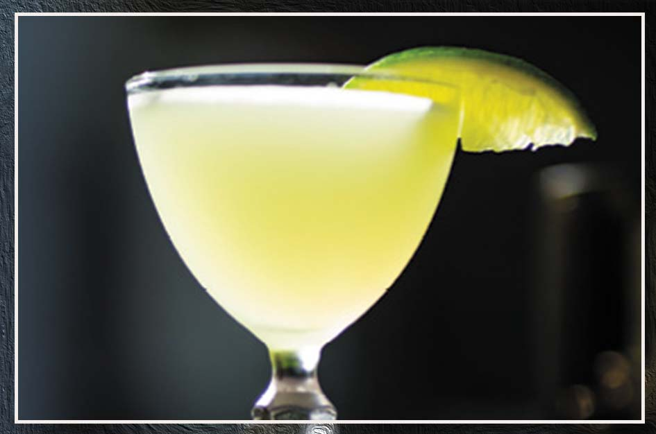 """Cocktail Twist: """"Mezcal Last Word; you substitute Mezcal for gin and add green chartreuse, lime, and Luxardo Maraschino."""""""
