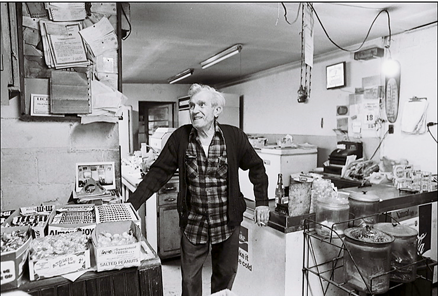 John Sanka fried up shrimp and more at the restaurant for decades; photograph by Cramer Gallimore