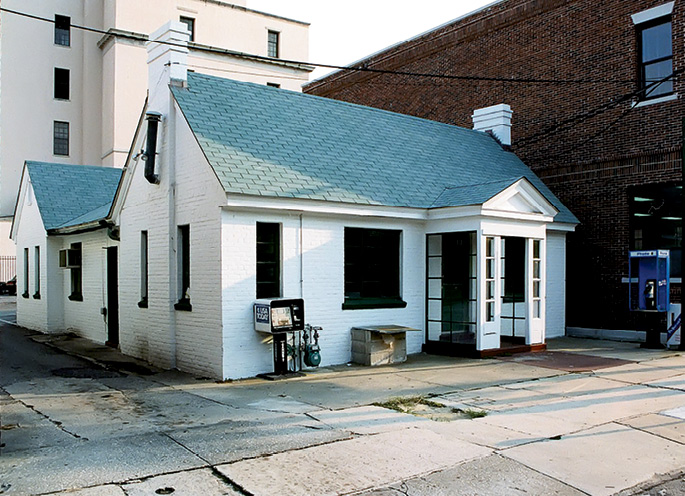The Calhoun Street institution after its closure in 1997