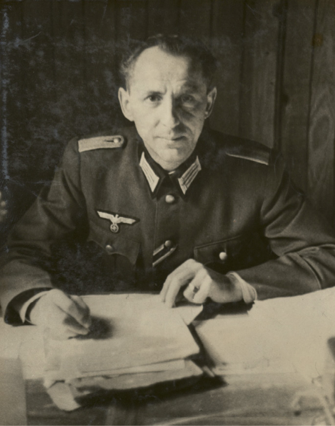 SS Lieutenant William Gosewich