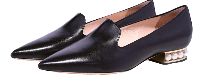 "Nicholas Kirkwood's ""Casati Pearl Loafers"" are on Hay's wish list."