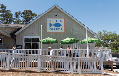 "Catch a Bite: ""Ella and Ollie's on Edisto Island has some of the best food I've ever eaten. My ultimate favorite is their BBQ Shrimp."""