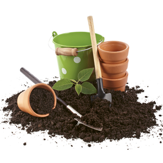 "Green Thumb - ""My ideal weekend at home involves digging in the dirt—planting flowers, pulling weeds."""