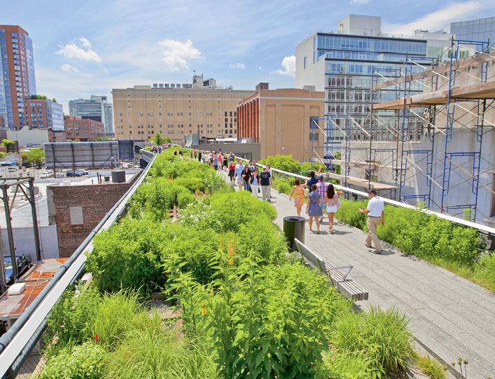 Transformative Tracks: Taking their cues from the incredible success of Manhattan's High Line, the Friends of the Lowcountry Low Line envision similar urban redevelopment potential, aesthetic enhancement, and heavy recreational use spurred by the nearly two-mile trail.