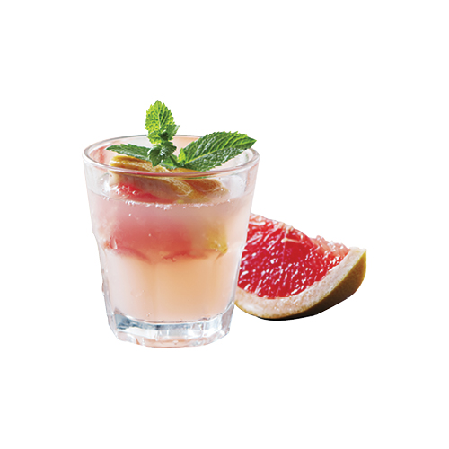 "Tart Appeal: ""Palomas are my drink of choice. I love the grapefruit and tequila combo. It's clean and simple."""