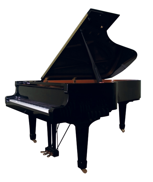 The chef bought this Yamaha player piano to entertain guests at In the Kitchen. Price upon request, Fox Music
